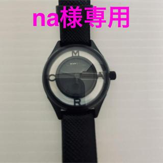 マークバイマークジェイコブス(MARC BY MARC JACOBS)の【未使用】MARC BY MARC JACOBS 腕時計(腕時計)