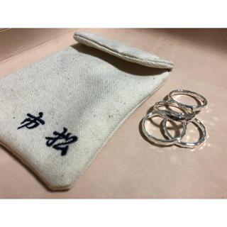 コモリ(COMOLI)の【2/5】ichimatsu5連リング 18.5号(リング(指輪))
