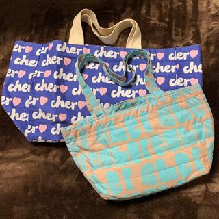 シェル(Cher)の未使用品 シェル & シェルショア トートバッグ 2種類 2枚セット(トートバッグ)