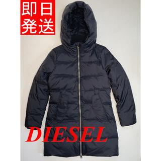 ディーゼル(DIESEL)の新品未使用 DISELE ダウンジャケット レディース ブラック(ダウンジャケット)