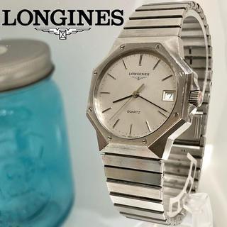 ロンジン(LONGINES)の6 ロンジン時計 メンズ腕時計 希商品 新品電池 デイト入り(腕時計(アナログ))
