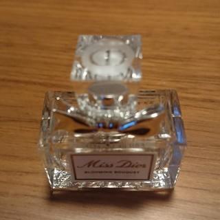 クリスチャンディオール(Christian Dior)のChristian Dior ミスディオール ミニ 空き瓶 割れあり (容器)
