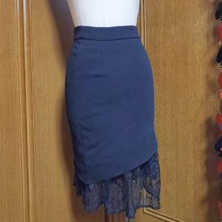 リップサービス(LIP SERVICE)の2way レーススカート(ひざ丈スカート)
