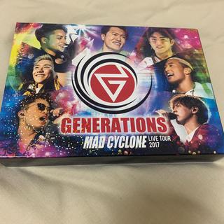 ジェネレーションズ(GENERATIONS)の【フォトブック付き】MADCYCLONE LIVEDVD(ミュージック)