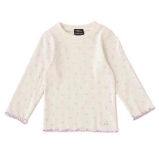 プティマイン(petit main)のプティマイン 110 オーガニックコットン チェリーメロウリブTシャツ(Tシャツ/カットソー)