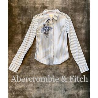 アバクロンビーアンドフィッチ(Abercrombie&Fitch)のAbercrombie & Fitchアバクロ ストライプシャツ(シャツ/ブラウス(長袖/七分))