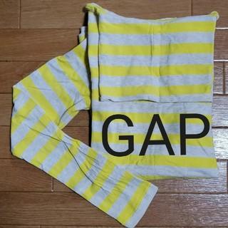 ギャップ(GAP)のGAP stretch タートルネック 蛍光黄色(Tシャツ(長袖/七分))