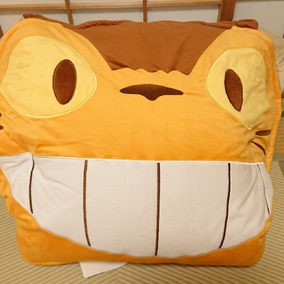 ジブリ(ジブリ)の未使用 ジブリ ネコバス 寝袋(キャラクターグッズ)