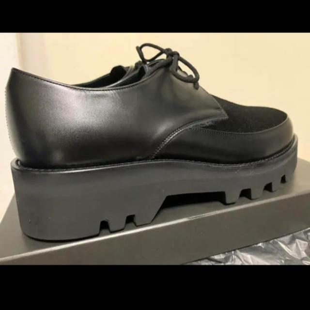 LAD MUSICIAN(ラッドミュージシャン)のU-TIP SHOES HAIR CALF 19aw 新品 44サイズ 定価以下 メンズの靴/シューズ(ドレス/ビジネス)の商品写真