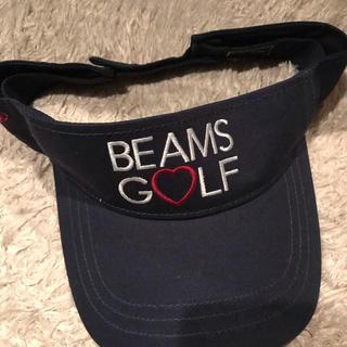 ビームス(BEAMS)の専用 ビームスゴルフ サンバイザー(キャップ)