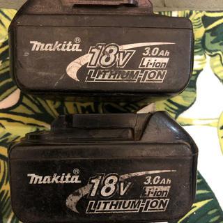 マキタ(Makita)のマキタバッテリーセット価格❗️ 動作確認済み❗️最終値下げ❗️(バッテリー/充電器)