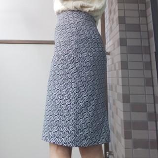 タルボット(TALBOTS)のタルボット モノトーン スカート(ひざ丈スカート)