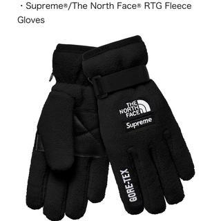 シュプリーム(Supreme)のsupreme × The North Face  Glove 手袋 黒 XL(手袋)