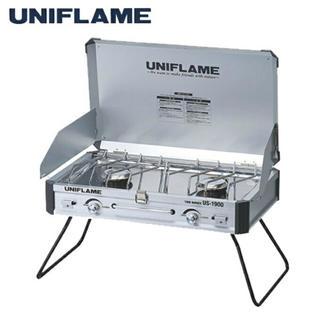 ユニフレーム(UNIFLAME)のユニフレーム ツインバーナー UNIFLAME ツーバーナー(ストーブ/コンロ)