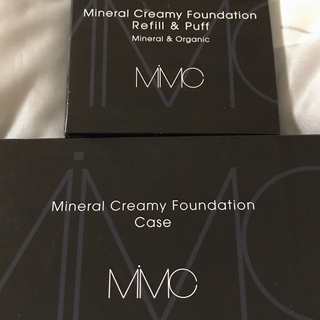 エムアイエムシー(MiMC)のMiMC ミネラルクリーミーファンデーション 102 新品リフィル ケース(ファンデーション)