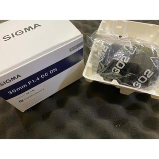 シグマ(SIGMA)のsigma 30mm F1.4 DC DN Eマウント(レンズ(単焦点))
