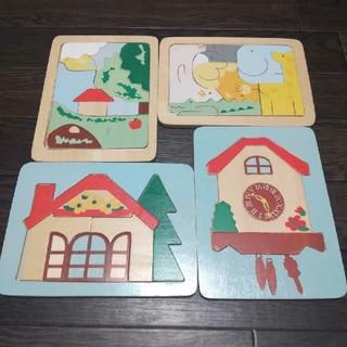 パズル 木製パズル 木のパズル 知恵玩具 型はめパズル 知育 プレゼント 誕生日(知育玩具)