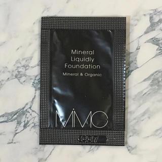エムアイエムシー(MiMC)のMiMC ミネラルリキッドファンデーション 102 ニュートラル(ファンデーション)