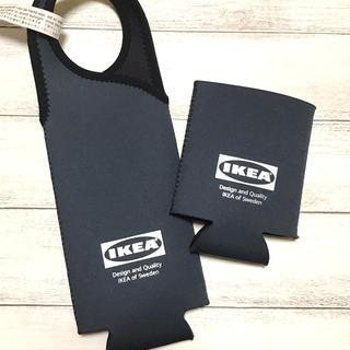イケア(IKEA)の新品。未使用★大人気。IKEAイケア✰ボトルホルダー&缶ホルダー2点セット(その他)