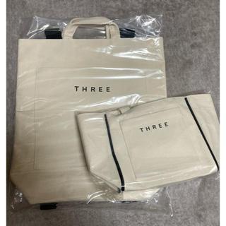 THREE - 【新品】THREE ノベルティ  バッグ
