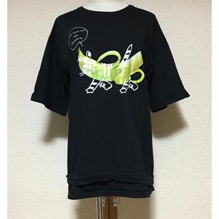 スカラー(ScoLar)のscolar parity スカラーパリティ バナナ 猫 Tシャツ(Tシャツ(半袖/袖なし))