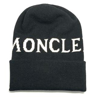 モンクレール(MONCLER)の【新品未使用】MONCLER モンクレール ニット帽 ニットキャップ(ニット帽/ビーニー)