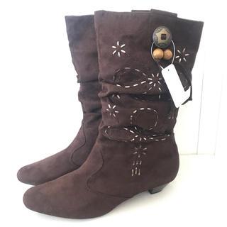 新品!スウェード ブーツ XL 26cm(ブーツ)