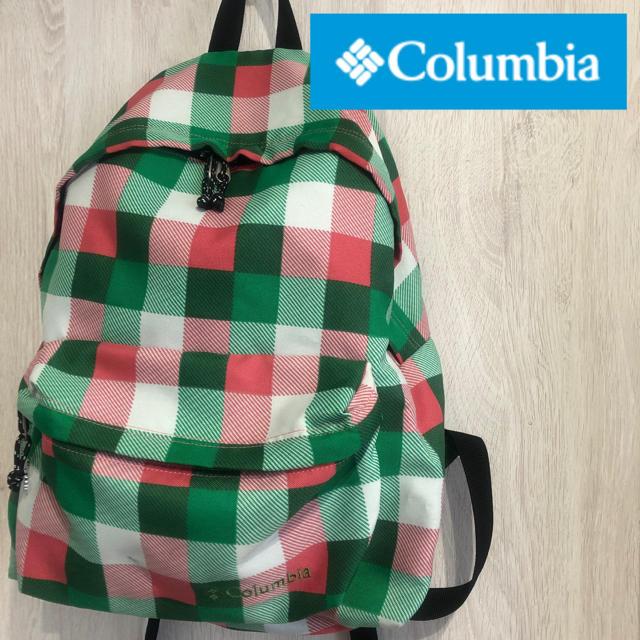 Columbia(コロンビア)のインスタ映え☆超美品レアカラー配色☆Columbiaド派手目立ちリュック☆大人気 メンズのバッグ(バッグパック/リュック)の商品写真