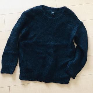 ルシェルブルー(LE CIEL BLEU)の最終価格☆ルシェルブルー 黒ニット(ニット/セーター)