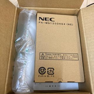 エヌイーシー(NEC)のNEC PA-WG1200HS4(NE)新品未使用(PC周辺機器)