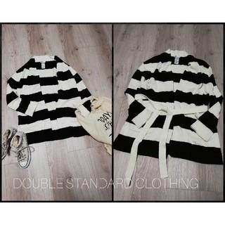 ダブルスタンダードクロージング(DOUBLE STANDARD CLOTHING)のDOUBLE STANDARD ダブルスタンダード  ロングニットカーディガン(カーディガン)