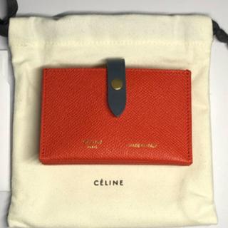 セリーヌ(celine)の新品未使用 セリーヌ CELINE カードホルダー カードケース アコーディオン(名刺入れ/定期入れ)