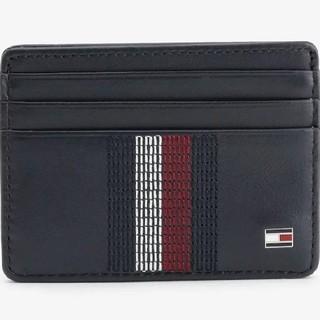 トミーヒルフィガー(TOMMY HILFIGER)のTOMMY HILFIGER レザーカードケース(折り財布)