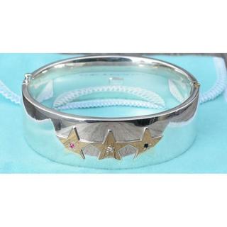 Tiffany & Co. - Tiffany&co. Gold Star Bangle  バングル スター