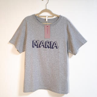 サイラス(SILAS)のSILAS & MARIA マリアTシャツ グレー(Tシャツ(半袖/袖なし))