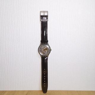 スウォッチ(swatch)の未使用 SWATCH スウォッチ 腕時計 本革ベルト numbers (腕時計)