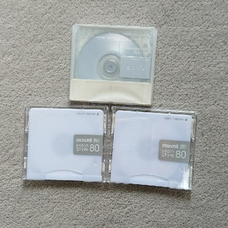 マクセル(maxell)の【未使用】maxell SONY MDディスク 3枚(その他)