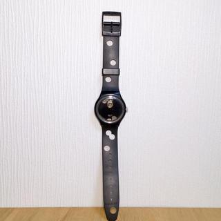 スウォッチ(swatch)のSWATCH スウォッチ 腕時計 パンチング 黒(腕時計)
