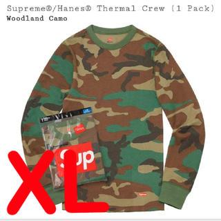シュプリーム(Supreme)のSupreme Hanes Thermal Crew  XL(Tシャツ/カットソー(七分/長袖))