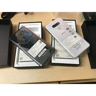 エルジーエレクトロニクス(LG Electronics)の【新品同様】LG style3 L-41A オーロラホワイト(スマートフォン本体)
