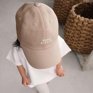 アリシアスタン(ALEXIA STAM)のアリシアスタン BABY ALEXIAキャップ ベージュ(帽子)