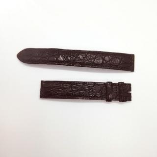 カルティエ(Cartier)のカルティエ 革 時計ベルト★黒(レザーベルト)