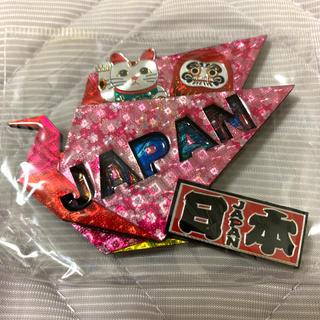 鶴 ツル 招き猫 ダルマ JAPAN 日本 マグネット(日用品/生活雑貨)