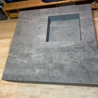 カッシーナ(Cassina)のhukla コンクリート テーブル(ローテーブル)