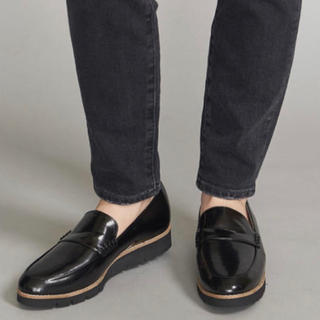 ユナイテッドアローズ(UNITED ARROWS)の今季 ユナイテッドアローズ フェイクレザーローファー 22.5cm(ローファー/革靴)