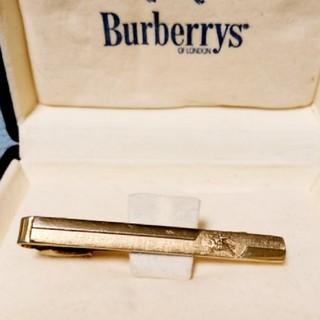 バーバリー(BURBERRY)のBURBERRYバーバリーネクタイピン化粧箱付(ネクタイピン)