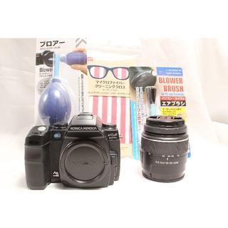 コニカミノルタ(KONICA MINOLTA)のMinolta α Sweet Digital & Sony レンズ 18-55(デジタル一眼)