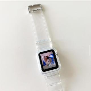 Apple Watch - クリアバンド Apple Watch 38mm