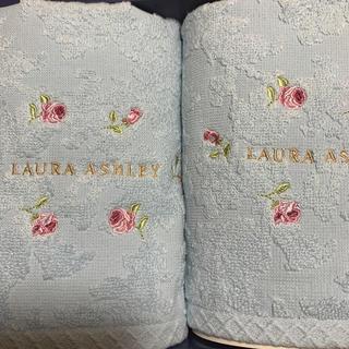 ローラアシュレイ(LAURA ASHLEY)の【新品】ローラアシュレイ ゲストタオルセット(タオル/バス用品)