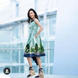 エムズグレイシー(M'S GRACY)の最終値下げ。2020年 エムズグレイシー スズランスカート新品(ひざ丈スカート)